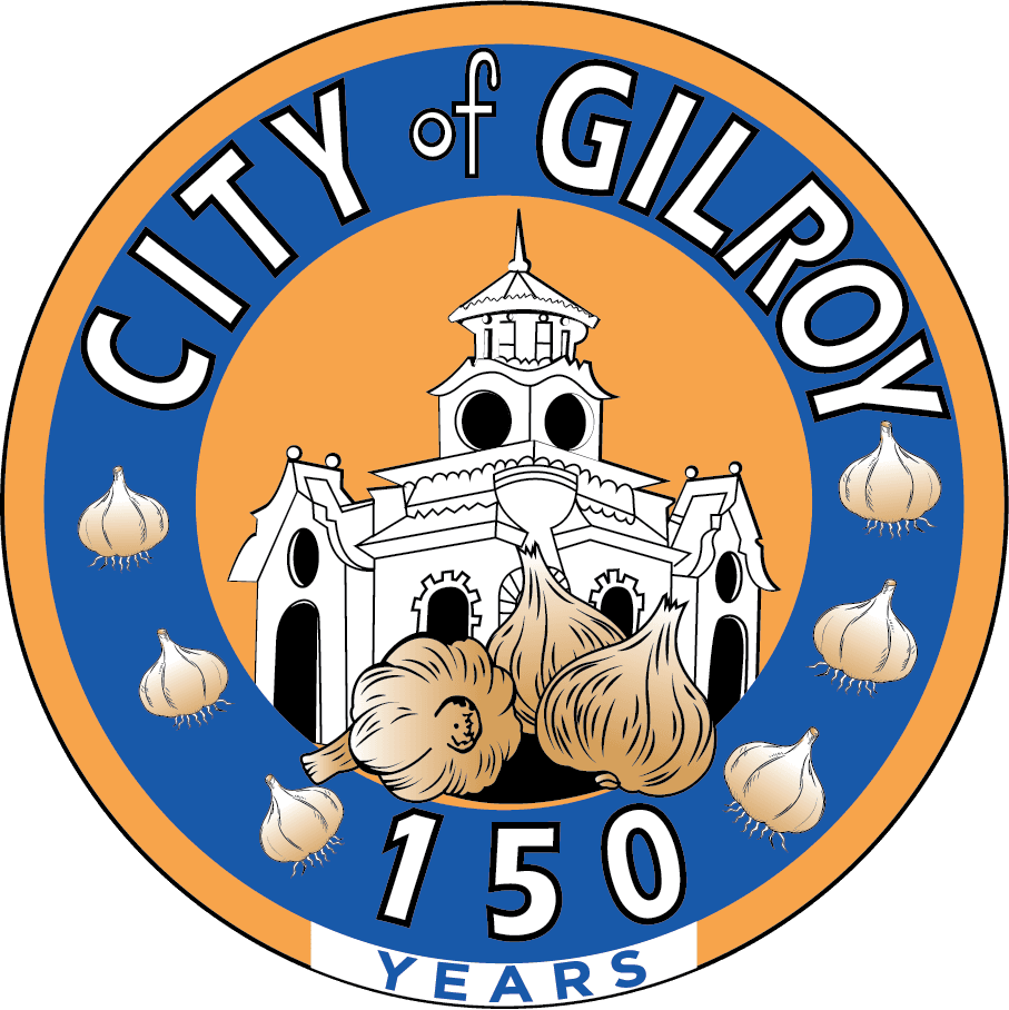 Color image of the 150th Logo including an illustration of City Hall