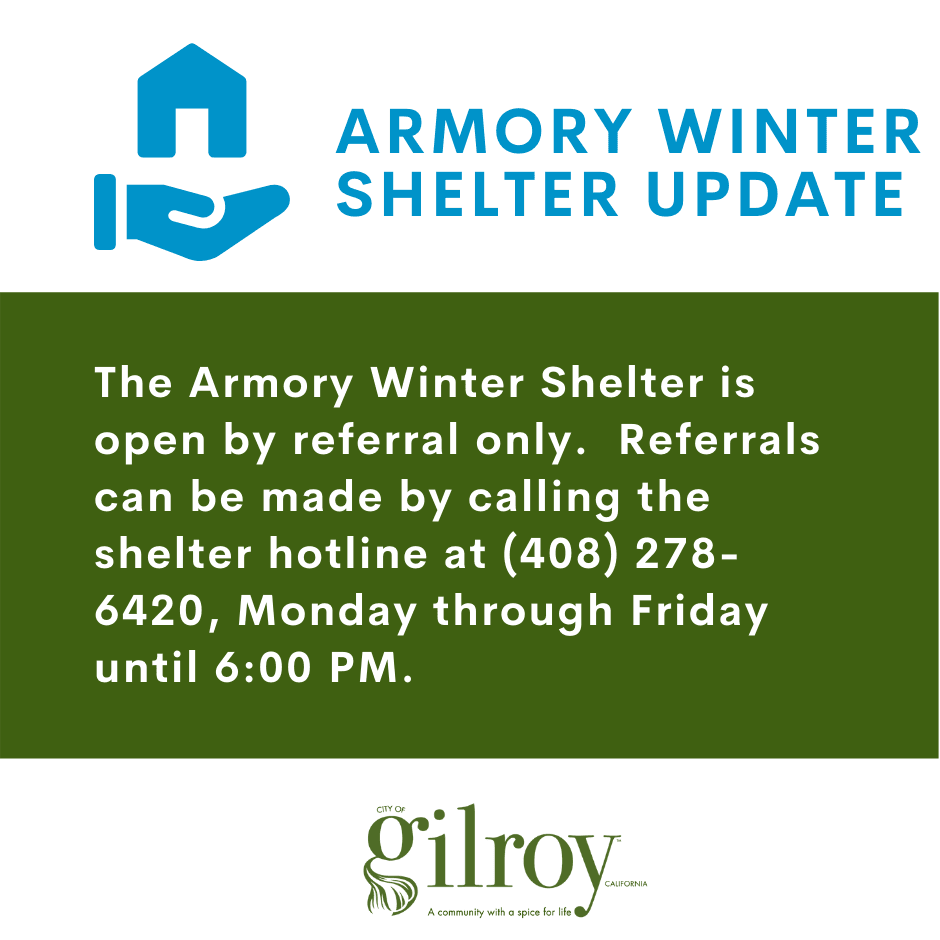 Armory Winter Shelter