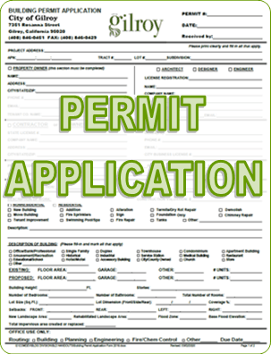 Building Permit Application Opens in new window