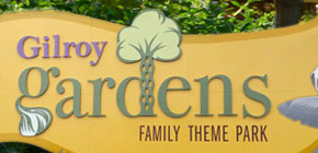 Gilroy Gardens Sign